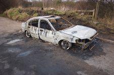 Stolen Car Royalty Free Stock Photos