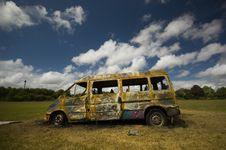 Free Stolen Van Stock Photography - 16860732