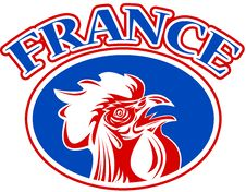 Free French Mascot Rooster France Stock Images - 16860864