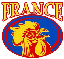 Free Mascot Rooster Cockerel France Stock Photography - 16860882