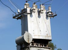 The Electric Transformer Royalty Free Stock Photos
