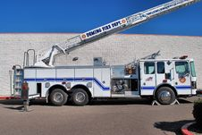 Free Fire Truck Side View Stock Photos - 16861173