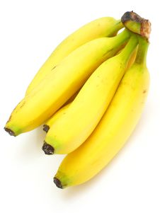 Free Yellow Bananas Royalty Free Stock Image - 16861396
