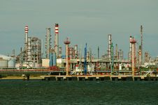 Free Part Of Refinery Complex. Stock Photography - 16861902