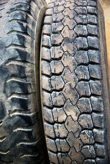 Free Black Tires Stock Image - 16862541