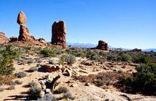 Free Balanced Rock Royalty Free Stock Photography - 16862577