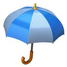 Free Blue Umbrella Stock Image - 16862841