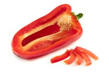 Free Red Bell Pepper Stock Photo - 16863140