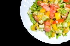 Free Salad Royalty Free Stock Photo - 16863535