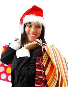 Free Christmas Shopping Stock Image - 16863651