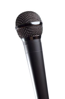 Free Microphone Isolated Stock Photos - 16863653