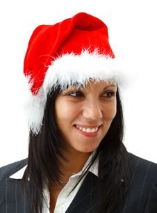Free Christmas Woman Royalty Free Stock Images - 16863669