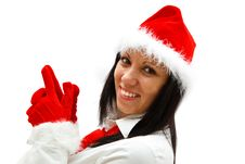 Free Christmas Woman Stock Photos - 16863713