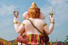 Free Back Of Ganesha Stock Photo - 16864480