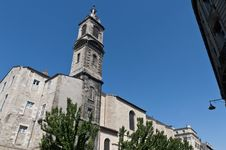 Church Of Saint Paul At Bourdeaux, France Royalty Free Stock Photo