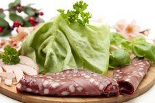 Free Red Sausage Royalty Free Stock Image - 16865056