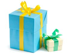 Free Color Gift Boxes Royalty Free Stock Image - 16865106