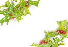 Free Beautiful Christmas Frame Royalty Free Stock Image - 16865166