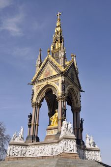 Free Albert Memorial, London Royalty Free Stock Image - 16865966