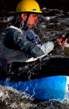 Free Whitewater Freestyle Stock Image - 16866531