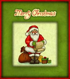 Free Christmas Greeting Card Royalty Free Stock Photo - 16867135