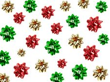 Free Wrapping Bows Royalty Free Stock Photo - 16867175