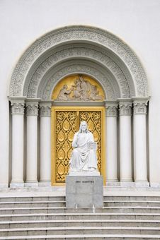 Free Church Doorway Stock Images - 16868154