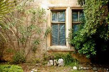 Free Window In Monastery On Locrum Island Stock Photo - 16868200