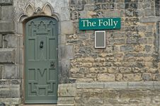 Doorway To The Folly Royalty Free Stock Image