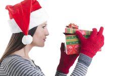 Free Christmas Present Royalty Free Stock Image - 16868706