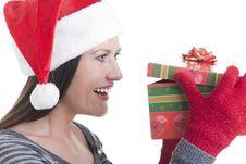 Free Christmas Present Royalty Free Stock Image - 16868816