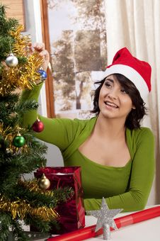 Free Getting Ready For Xmas Royalty Free Stock Photos - 16868848
