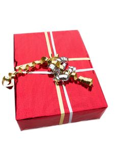Free Red Gift Box Royalty Free Stock Image - 16869116