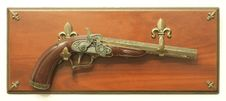 Free Decorative Flintlock Pistol Stock Photography - 16869812