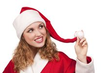 Free Coquette Santa Stock Images - 16869834