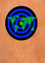 Free World Dartboard Tan Royalty Free Stock Photo - 16870545