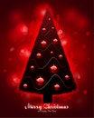 Free Christmas Tree Greeting Card Royalty Free Stock Photo - 16873485