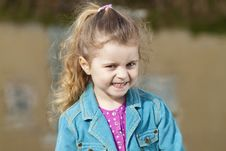 Free Smiling 4 Year Old Girl. Stock Photography - 16870252