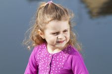 Free Smiling 4 Year Old Girl. Royalty Free Stock Images - 16870339