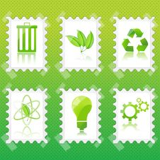 Free Recycle Stamp Stock Image - 16870601