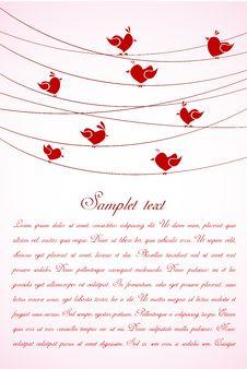 Free Love Card Stock Image - 16870611