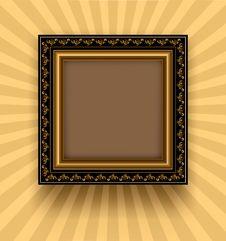 Free Retro Frame Royalty Free Stock Image - 16870726