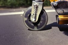 Free Scooter Wheel Stock Image - 16871101