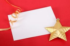 Xmas Card Royalty Free Stock Photos