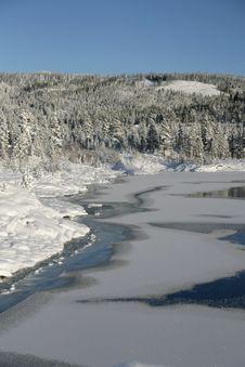 Free Lake Freezing Over Royalty Free Stock Photos - 16871678