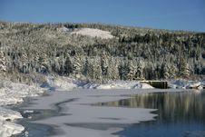 Free Lake Freezing Over Stock Images - 16871694
