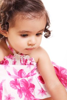 Free Two Years Old Girl Stock Photo - 16871720
