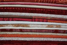 Free Fabrics Combined In Numbers Royalty Free Stock Photography - 16872577