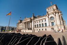 Reichstag V5 Royalty Free Stock Photo