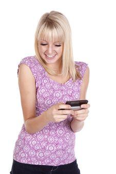 Free Happy Smile Text Stock Photo - 16873240